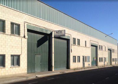 STE S.L. - Vista de la fachada principal